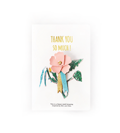 Thank You Carnation Broach_Small